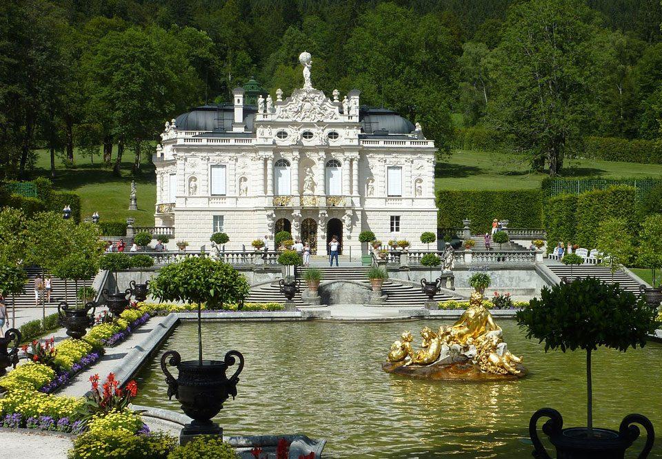 Schloß-Tour Linderhof Ticket-Reservierung Ludwig II Transfer Ibel München