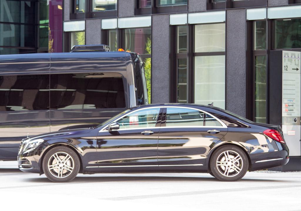 Mercedes-Benz S-Klasse Luxusliner Transfer-Ibel München