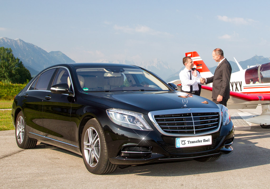 Mercedes-Benz S-Klasse VIP-Limousine Transfer-Ibel München