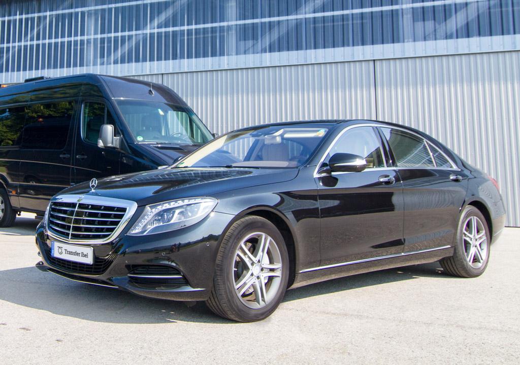 Mercedes-Benz S-Klasse Luxus-Limousine Transfer-Ibel München