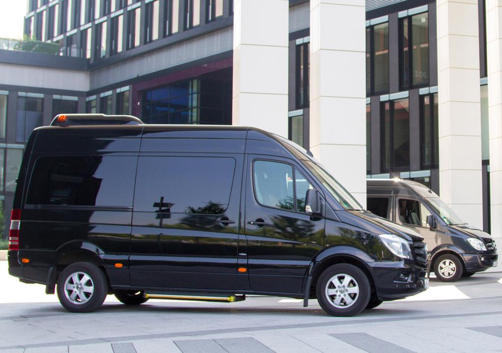 Mercedes Benz Sprinter 8 Personen Luxus Bus Transfer Ibel München